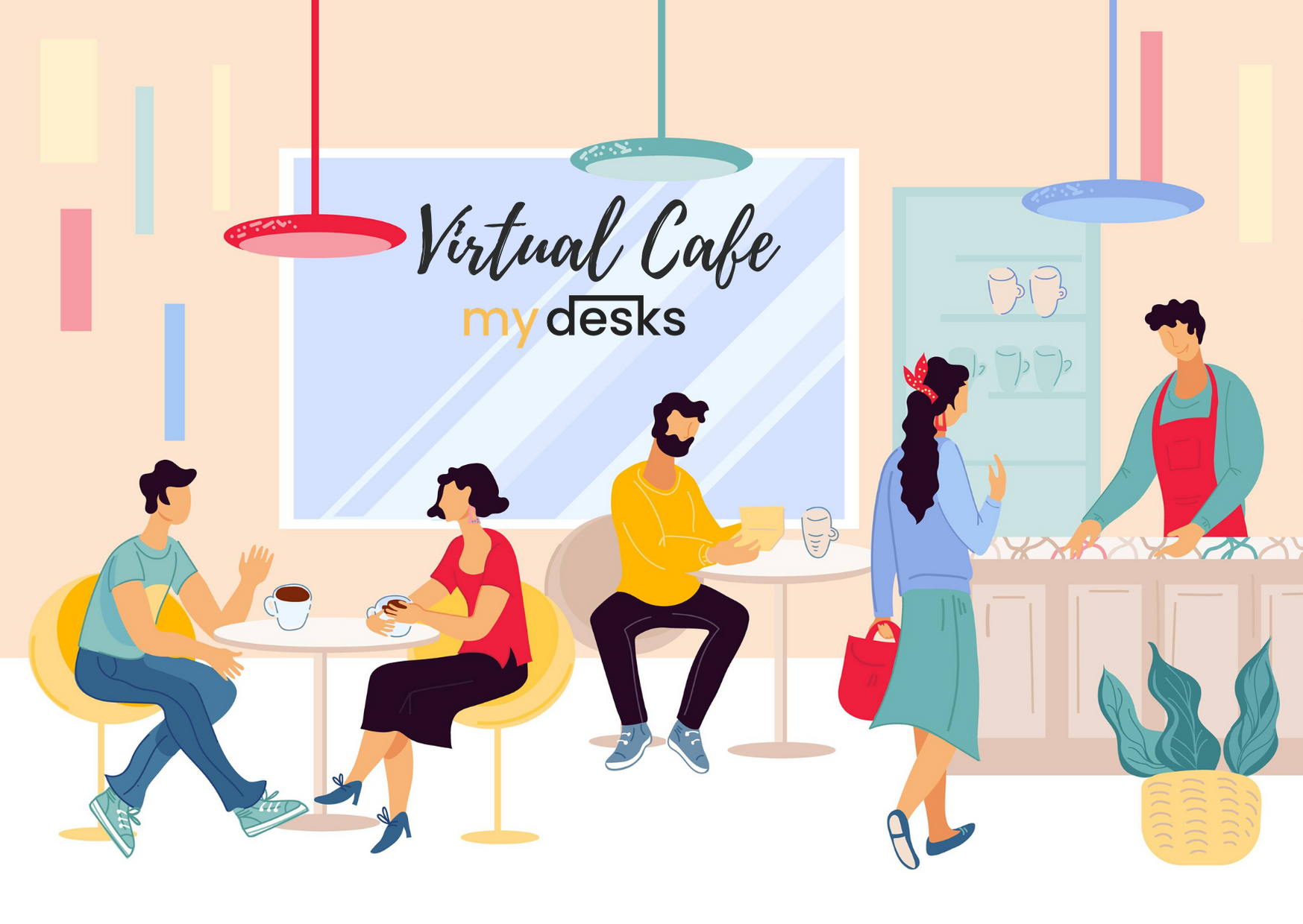 MyDesks Virtual CAFE